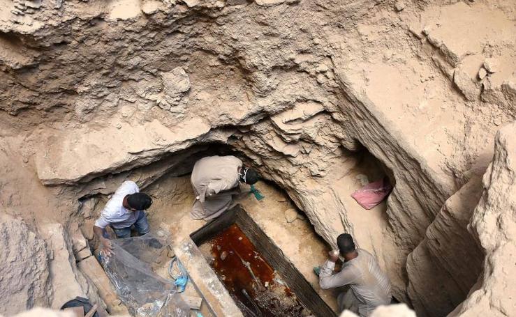 Así han descubierto el sarcófago egipcio que ha intrigado a todo el mundo