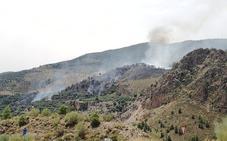 El incendio en el paraje de El Pinar afectó a ocho hectáreas de masa forestal