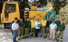 Reconocimiento al Centro Operativo Provincial por la concesión de la Medalla de Andalucía al plan Infoca