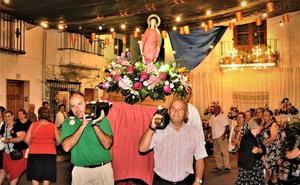 El Barrio Bajo de Órgiva se prepara para celebrar durante tres días sus fiestas en honor a Santa Filomena