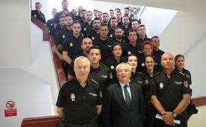 Almería refuerza su seguridad con 105 agentes de la Policía Nacional