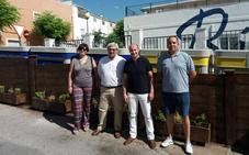 La Diputación mejora la integración visual de contenedores en calles de Jódar