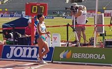 María Pérez se lleva la medalla de bronce en el campeonato de España de atletismo