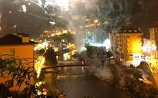 Veinte heridos leves en una explosión pirotécnica en Asturias
