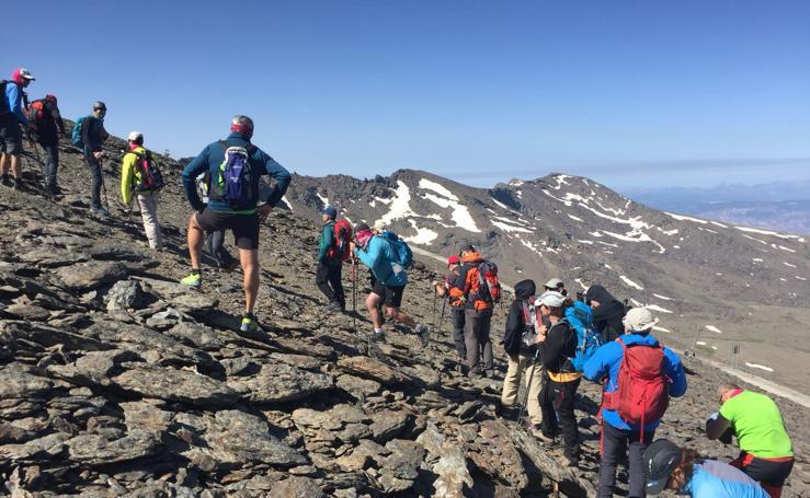 Las espectaculares imágenes del Trekking Altas Cumbres