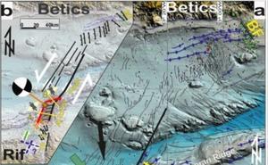 Científicos de la UGR identifican una nueva falla en el mar de Alborán