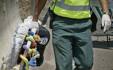 Un narco esconde una roca de 600 gramos de cocaína en una silla de bebé y acaba detenido