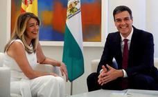 Las peticiones de Susana Díaz para Granada en la reunión con Pedro Sánchez