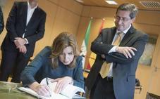 Susana Díaz cita mañana a la estructura del partido en Granada para una «reunión de trabajo»