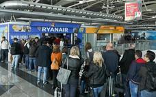 Ryanair dejará de operar uno de cada cuatro vuelos por la huelga