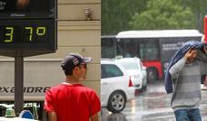 Tiempo revuelto: advertencia de los meteorólogos para las próximas horas