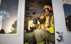 Así se prepara un retén del Infoca para hacer frente a los incendios de Granada
