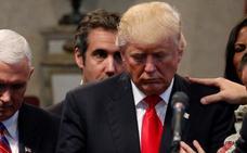 EE UU escucha a Trump discutiendo pagos a una modelo de Playboy