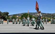 La Caballería de La Legión honra a su Patrón, Santiago Apóstol, y de España