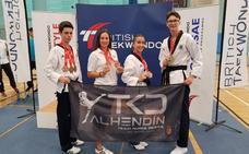 Dos oros y cinco bronces para el Club Taekwondo de Alhendín en el Open Británico