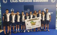 Sexta plaza para el CDU en el campeonato de España alevín