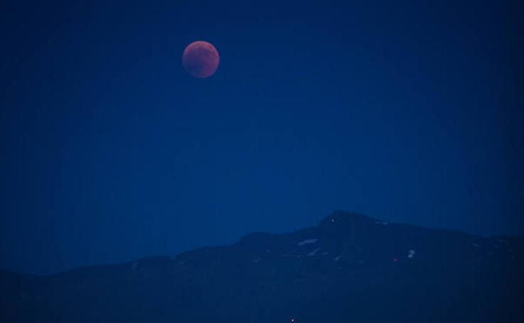 Así se ha visto el eclipse de Luna desde Granada