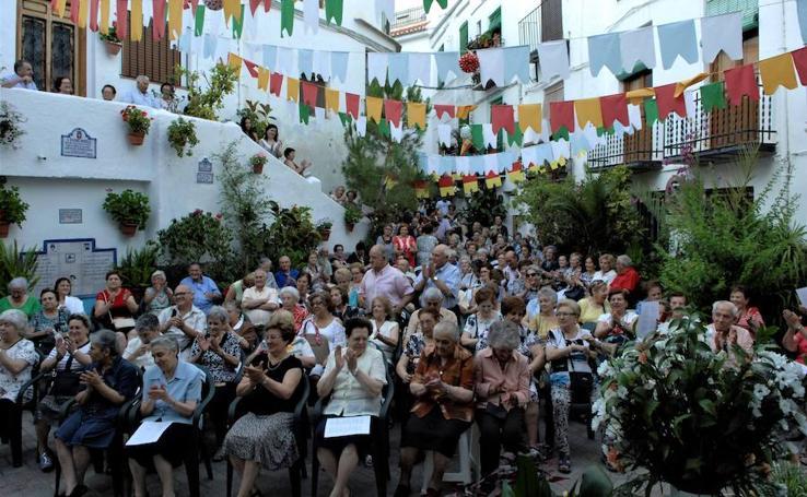 Lanjarón celebra una misa al aire libre el día de San Joaquín y Santa Ana
