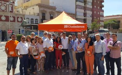 Ciudadanos se presenta como «la única alternativa al bipartidismo» en Andalucía