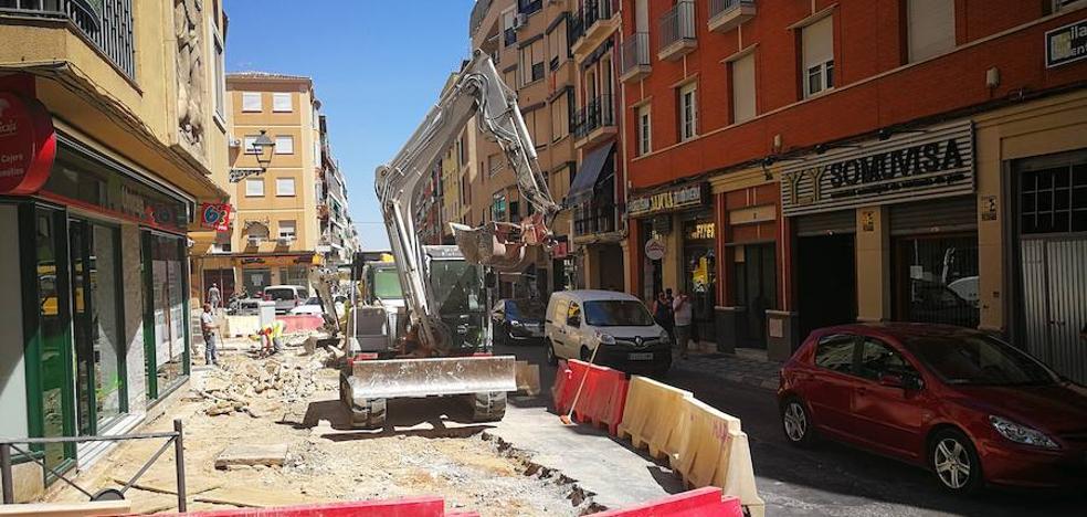 Comienzan las obras en la calle Doctor Eduardo Arroyo de Jaén