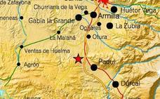 Registrado un terremoto de magnitud 2,7 con epicentro en Padul