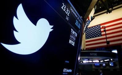 Twitter se desploma un 20% en bolsa