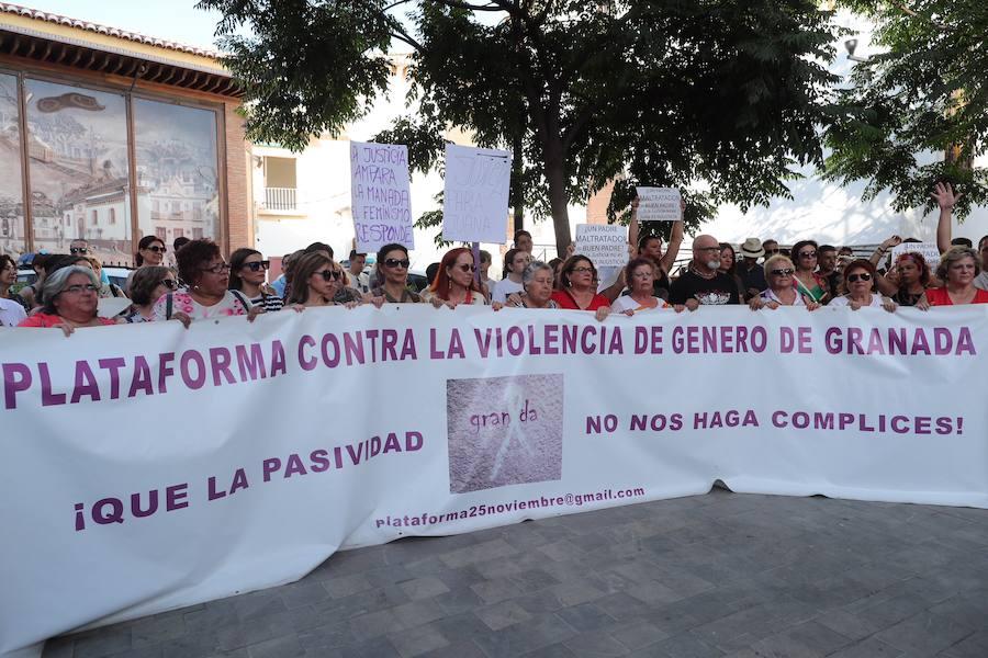 Concentración de apoyo a Juana Rivas