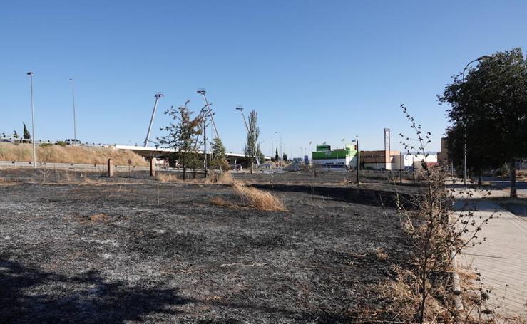 Fuego en Maracena