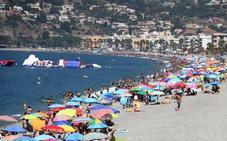 Almuñécar coloca la bandera amarilla en tres playas «por precaución» ante las medusas