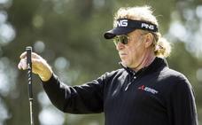 Miguel Ángel Jiménez gana el primer Open Británico sénior del golf español