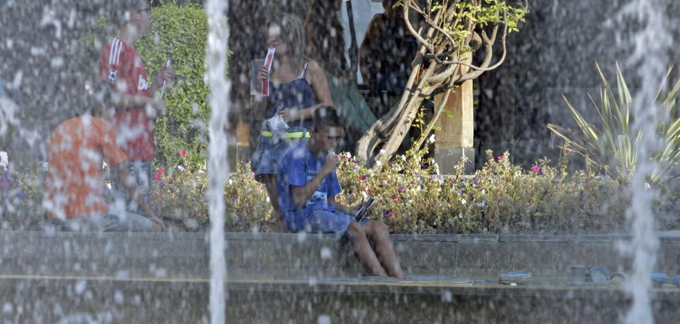 Temperaturas de hasta 45 grados a la sombra en la provincia de Jaén con la primera ola de calor
