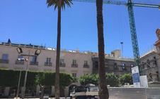 La Junta señala su «preocupación» por los «retrasos» en la Plaza Vieja