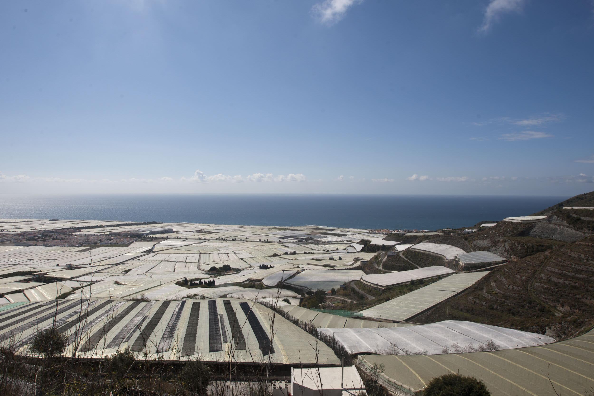 Agricultura retirará los residuos plásticos de los invernaderos en Motril