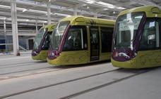 Diez millones de euros de los vagones, último escollo del convenio que arrancará el tranvía