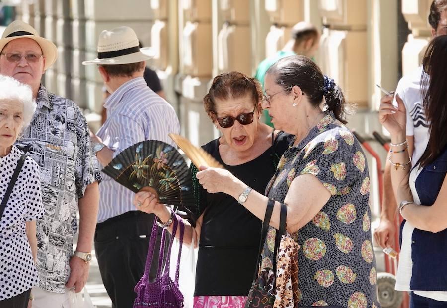 Comienza la ola de calor en Granada