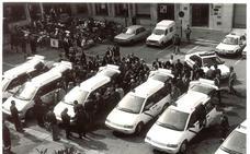 Las protestas de los taxistas a lo largo de la historia