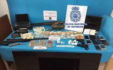 Cae en Linares una organización criminal dedicada a la distribución de droga