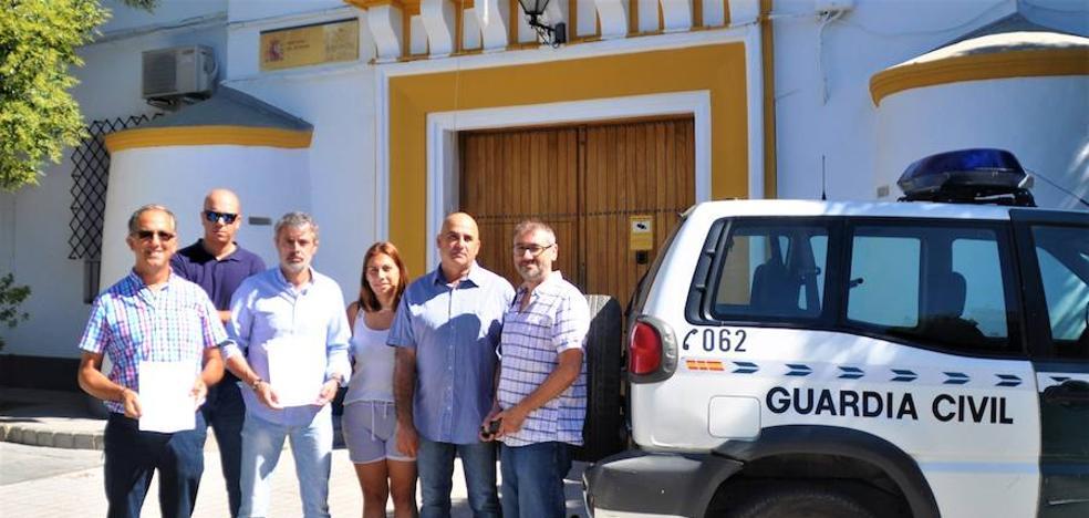 El PP de Órgiva ofrece su sede a la Guardia Civil