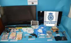 Desmantelan una organización en Linares que vendía la droga llegada de Colombia