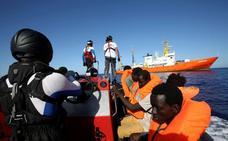 La inmigración irrumpe como quinto problema tras la llegada del 'Aquarius' a España