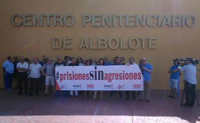 Denuncian el aumento de agresiones a los funcionarios de la cárcel de Albolote
