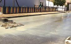 Las urbanizaciones de La Guardia afectadas por el depósito roto comienzan a recibir agua