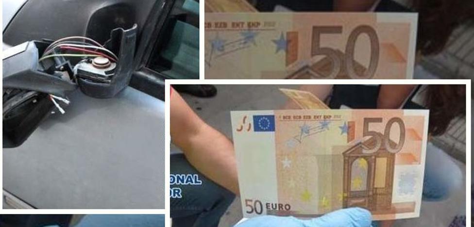 La estafa del billete de 50 euros y otros cuatro timos con el coche
