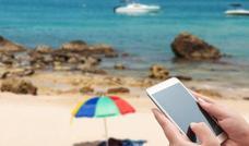 El verano, mal tiempo para el móvil