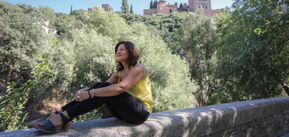 María Matilla: «Cualquier sombra que te permita ver la alhambra»