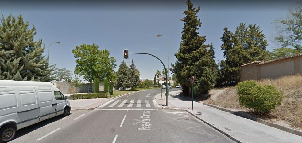 Fallece una mujer atropellada en un accidente de tráfico en el Paseo de Cartuja de Granada