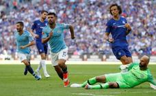 Agüero saca partido de la falta de rodaje del Chelsea