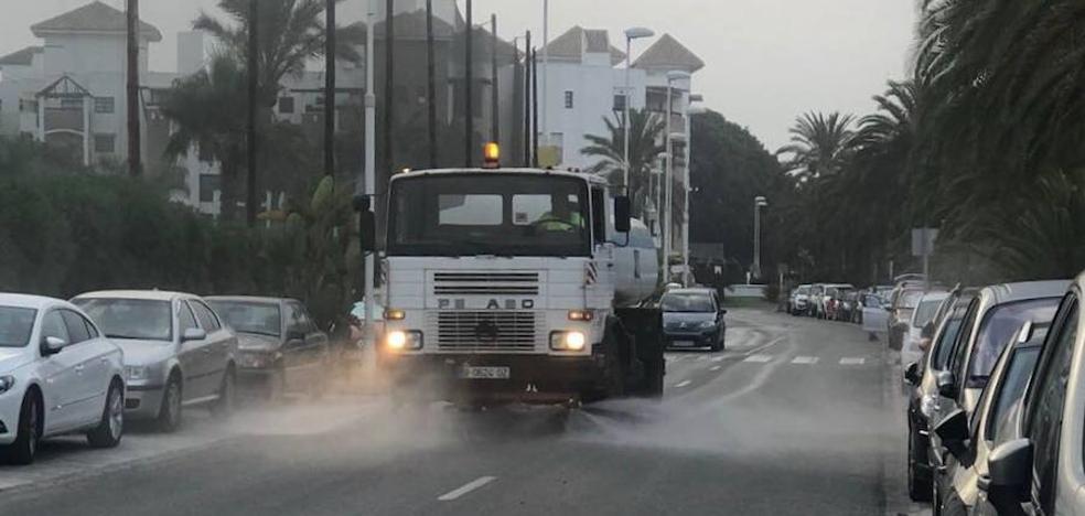 «Llevábamos cinco años sin ver un camión de riego en Playa Granada»
