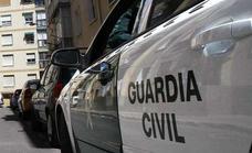 Tres detenidos y ocho kilos de marihuana incautados en Alhendín