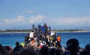 Un granadino vive el terremoto de Indonesia: «Nuestro miedo era que hubieran réplicas. Había que salir de allí»